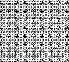 Black&white pattern by selvy8
