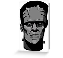 Boris Karloff inspired Frankenstein's Monster Greeting Card
