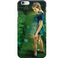 Green Labyrinth # 3 iPhone Case/Skin