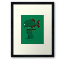 Piranha Plant Framed Print