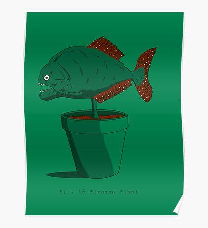 Piranha Plant Poster