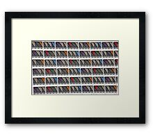 Shades Of Creativity Framed Print