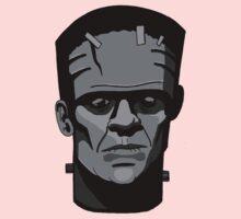 Boris Karloff inspired Frankenstein's Monster One Piece - Long Sleeve