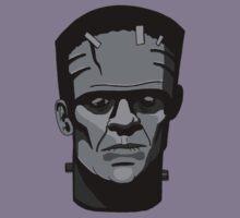 Boris Karloff inspired Frankenstein's Monster Kids Tee