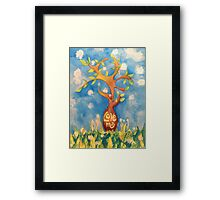 Love me, Love my tree Framed Print