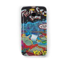 Ren and Stimpy boxing comic Samsung Galaxy Case/Skin