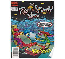 Ren and Stimpy boxing comic Poster