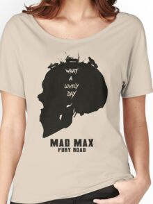 Mad Max Skull Road Women's Relaxed Fit T-Shirt