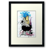 Once More Into The Fray Framed Print