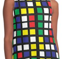 Cube Madness Contrast Tank