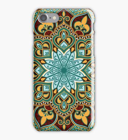 floral ethnic mandala iPhone Case/Skin