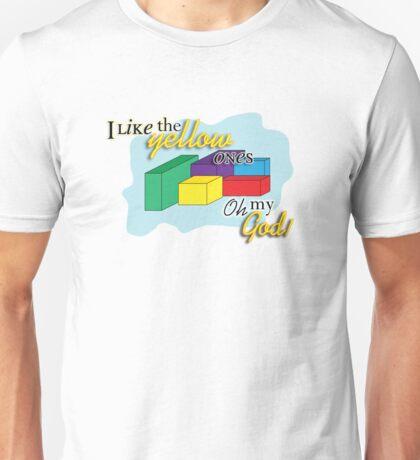 I like the yellow ones Unisex T-Shirt