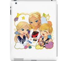 miraculous ladybug blonde & blue eyes iPad Case/Skin