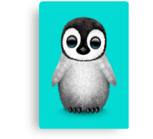 Cute Baby Penguin Canvas Print