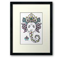 Ganesh the Elephant Framed Print