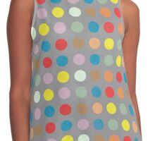 Colorful Circles VII Contrast Tank