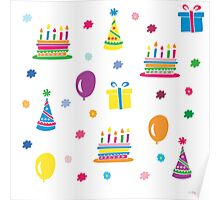 Colorful Birthday Poster