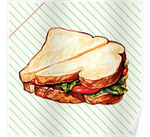 Lunch Room Sandwich Poster