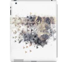 dirty triangle dog design iPad Case/Skin