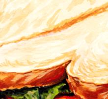 Lunch Room Sandwich Sticker