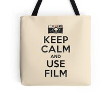 Keep Calm And Use Film Tote Bag