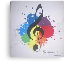 Song Canvas Print