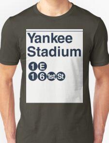 Yankee Stadium Subway Sign w T-Shirt