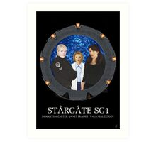 The Women of Stargate SG1 Art Print