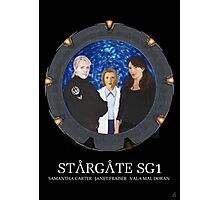 The Women of Stargate SG1 Photographic Print