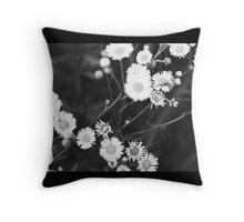 flower pillow Throw Pillow