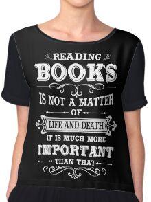 READING BOOKS Chiffon Top