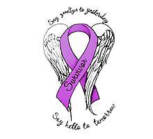Domestic abuse survivor shirt Photographic Print