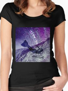 dive in summer Women's Fitted Scoop T-Shirt