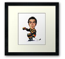 Dave Tiger Williams Framed Print
