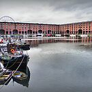 Albert Dock. by Lilian Marshall
