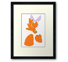 Cut Man Framed Print