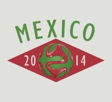 Mexico World Cup 2014 by heliconista