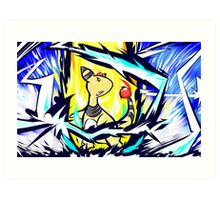 Ampharos | Thunder Art Print