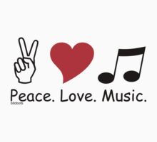 Peace Love Music by 4getsundaydrvs
