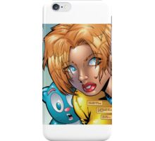 Kosmic Kat and Jamie iPhone Case/Skin