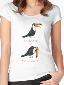 Toucan Toucan't Women's Fitted Scoop T-Shirt