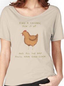 Good Cluck Women's Relaxed Fit T-Shirt