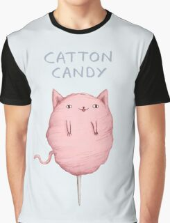 Catton Candy Graphic T-Shirt