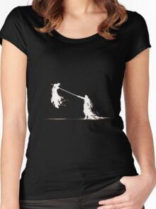 Final Fantasy VII Dual Women's Fitted Scoop T-Shirt