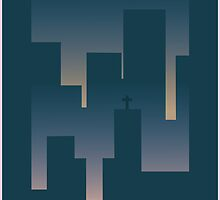 Midnight City by GarnetBarren