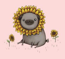 Pugflower Baby Tee