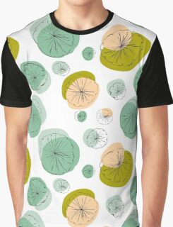 Light green lily pads Graphic T-Shirt