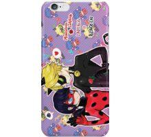 miraculous ladybug catbug iPhone Case/Skin
