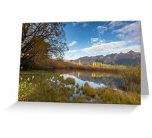 Glenorchy Lagoon Greeting Card
