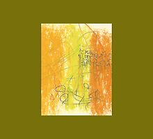 Abstract Art With Scribbles And Flourishes by Scott Larson